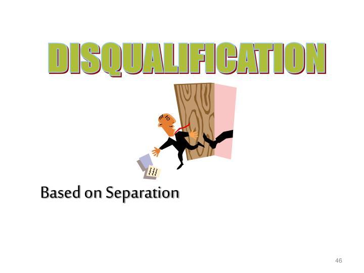 Based on Separation