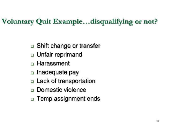 Shift change or transfer