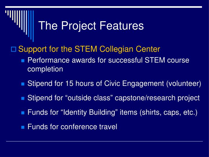 The Project Features