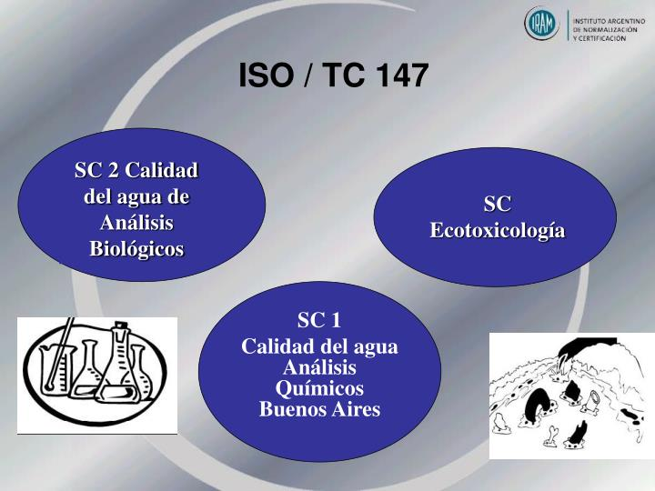 ISO / TC 147