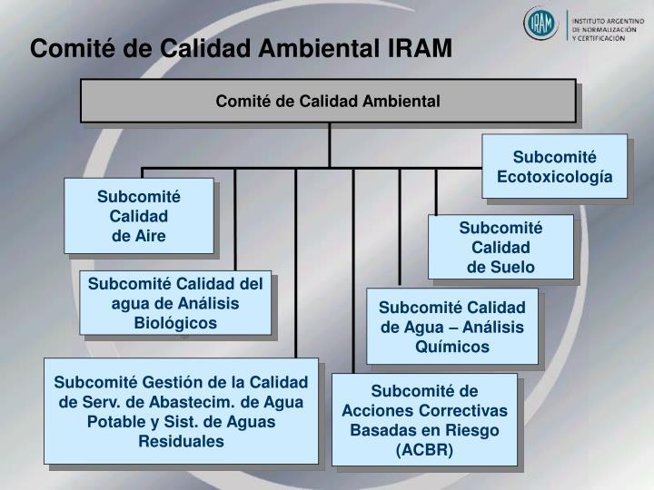 Comité de Calidad Ambiental IRAM