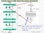 introduction to des data encryption standard