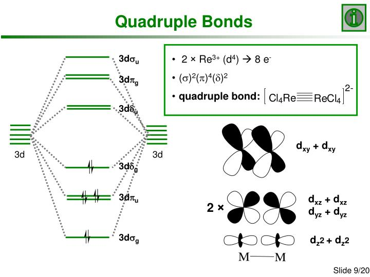 Quadruple Bonds