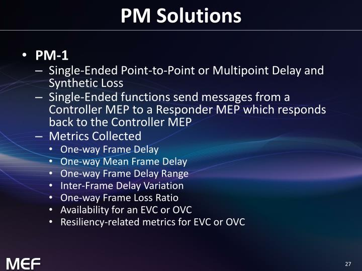 PM Solutions