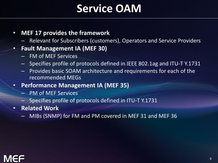 Service OAM