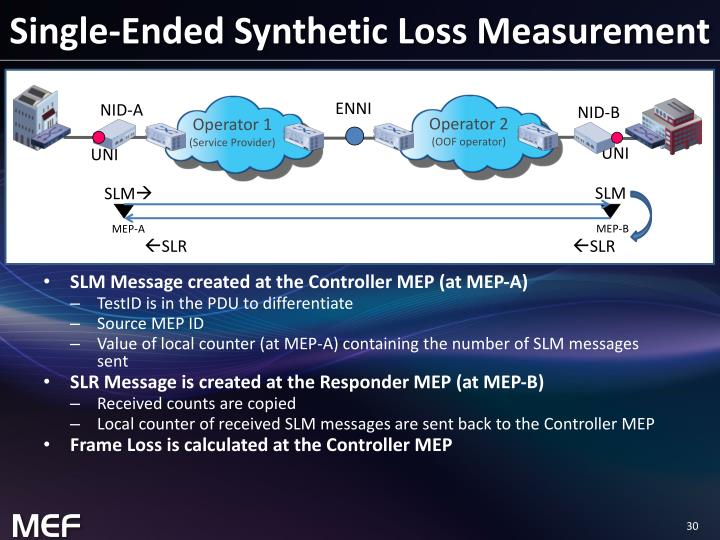 Single-Ended Synthetic Loss Measurement