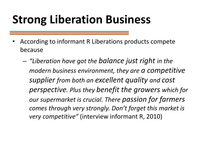 Strong Liberation Business
