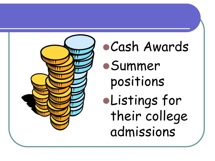 Cash Awards
