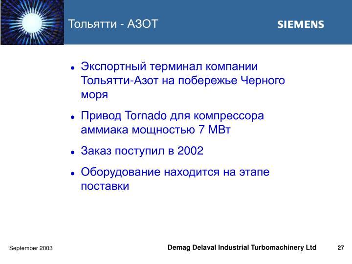 Тольятти - АЗОТ