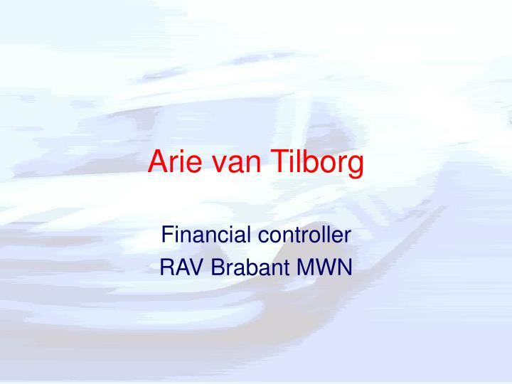 Arie van Tilborg