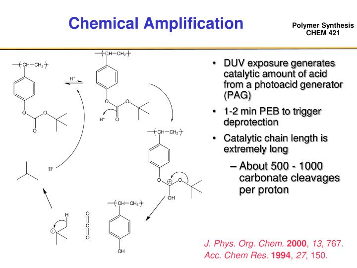 Chemical Amplification