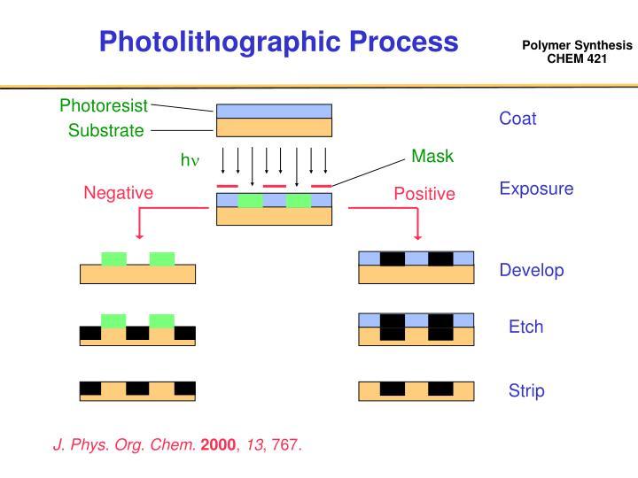 Photolithographic Process