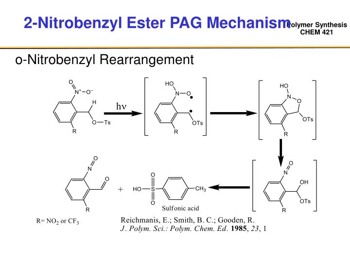 2-Nitrobenzyl Ester PAG Mechanism