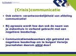 crisis communicatie1