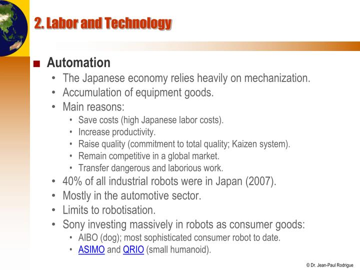 2. Labor and Technology