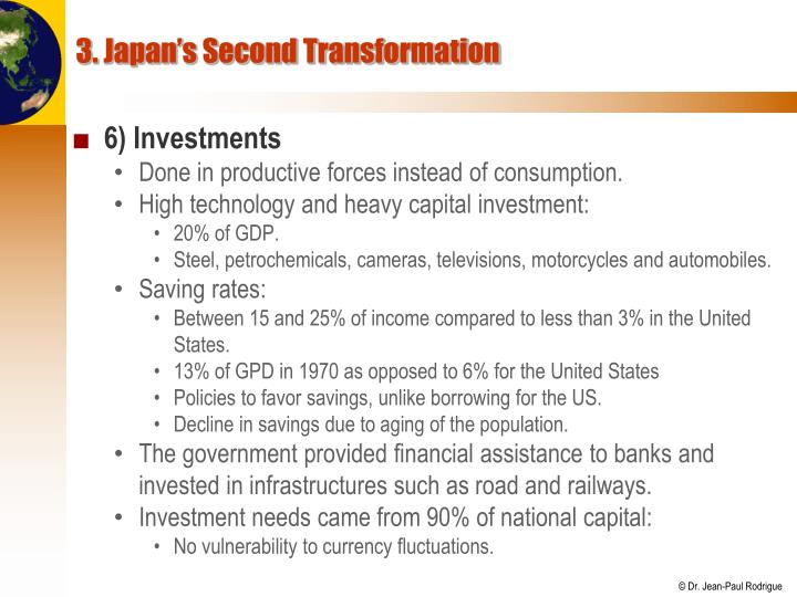 3. Japan's Second Transformation