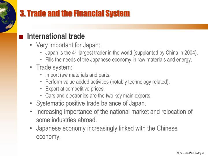 3. Trade and the Financial System