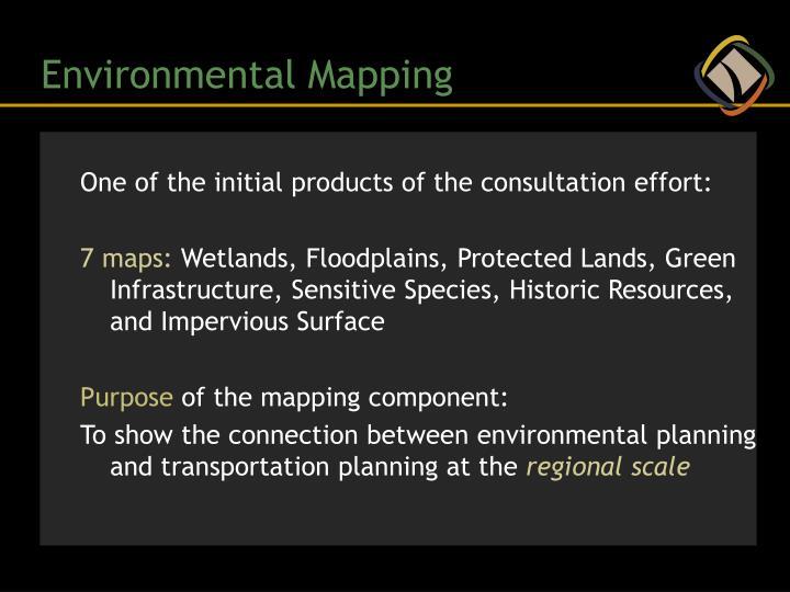 Environmental Mapping