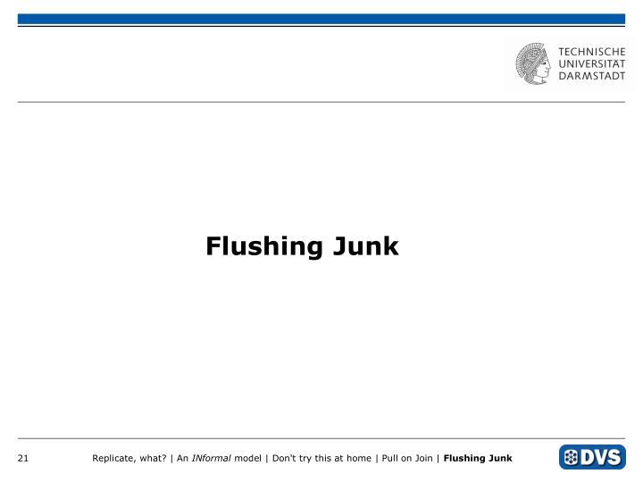 Flushing Junk