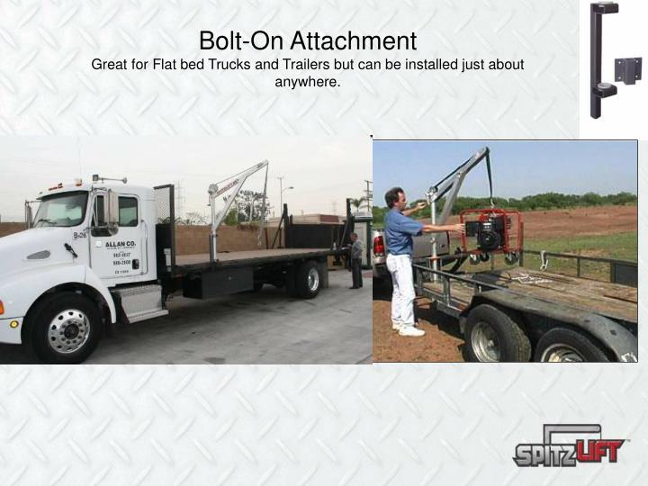 Bolt-On Attachment