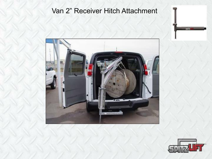 "Van 2"" Receiver Hitch Attachment"
