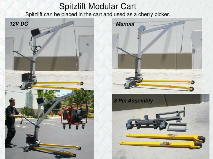 Spitzlift Modular Cart