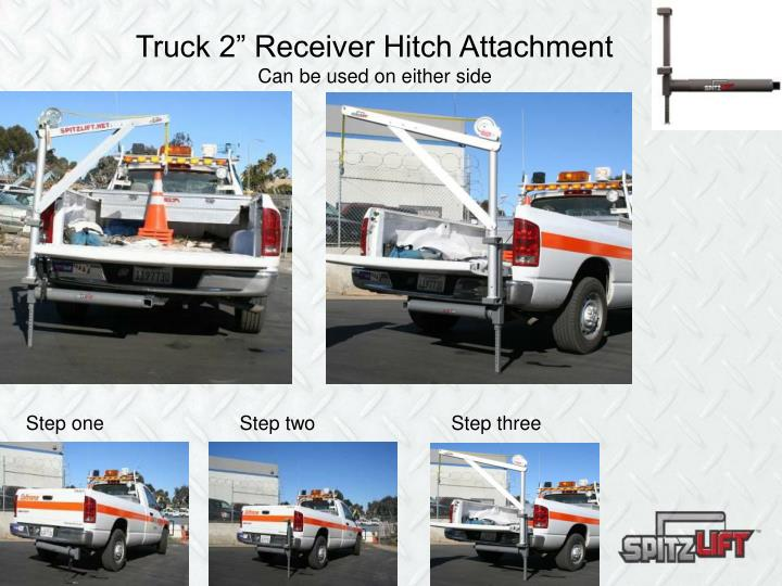 "Truck 2"" Receiver Hitch Attachment"