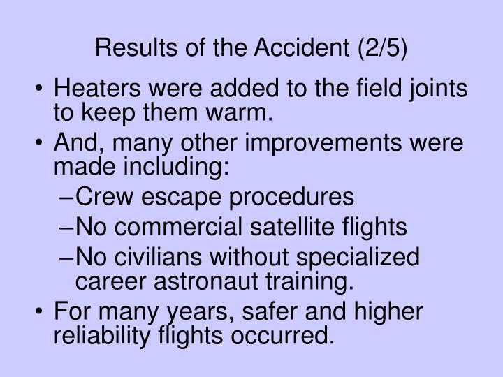 Results of the Accident (2/5)