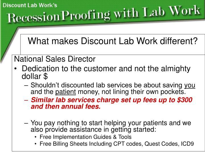 National Sales Director
