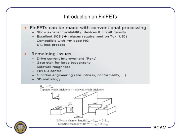 Introduction on FinFETs