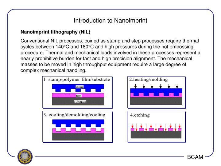 Introduction to Nanoimprint