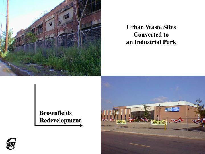 Urban Waste Sites