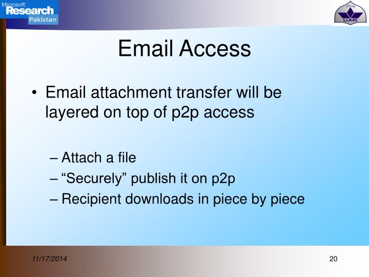 Email Access