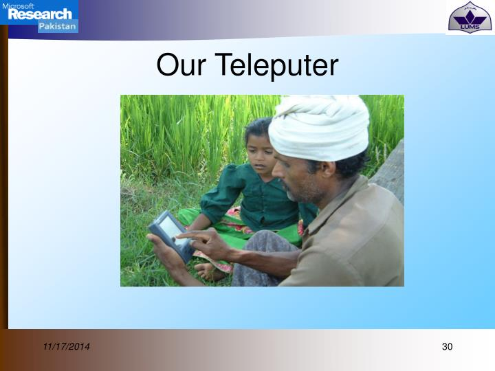 Our Teleputer