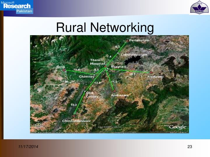 Rural Networking
