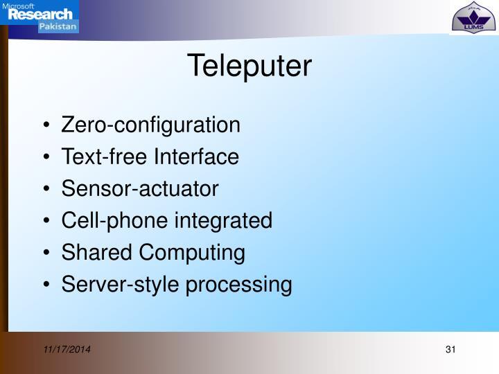 Teleputer