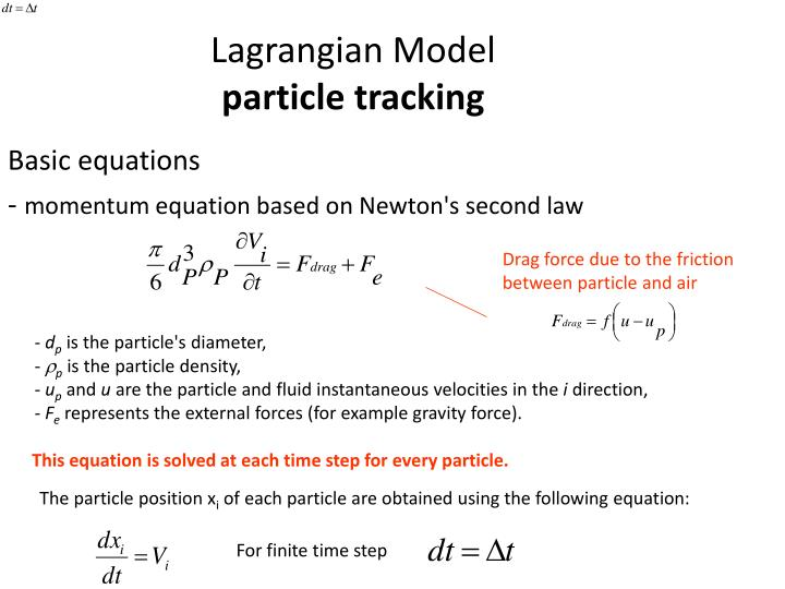 Lagrangian Model