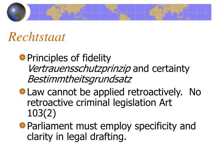 Rechtstaat
