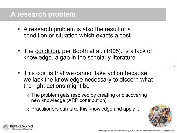 A research problem