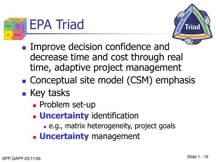 EPA Triad