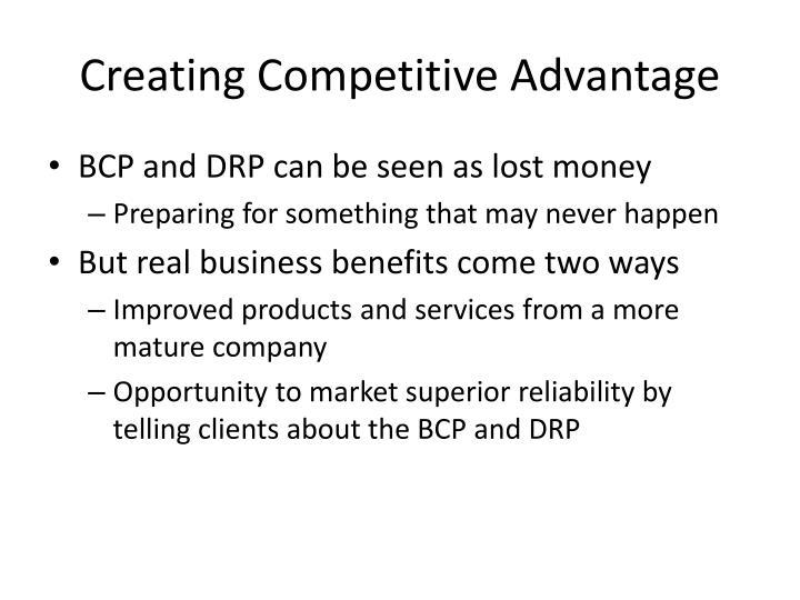 Creating Competitive Advantage