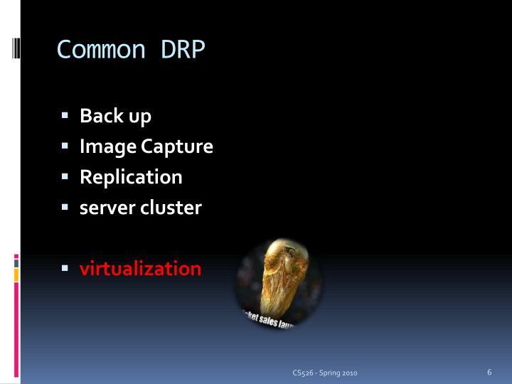 Common DRP