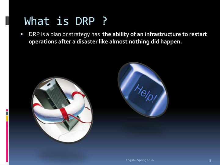 What is DRP ?