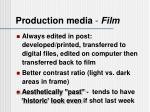 production media film1