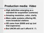 production media video2