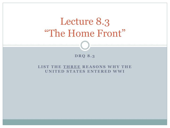 Lecture 8.3