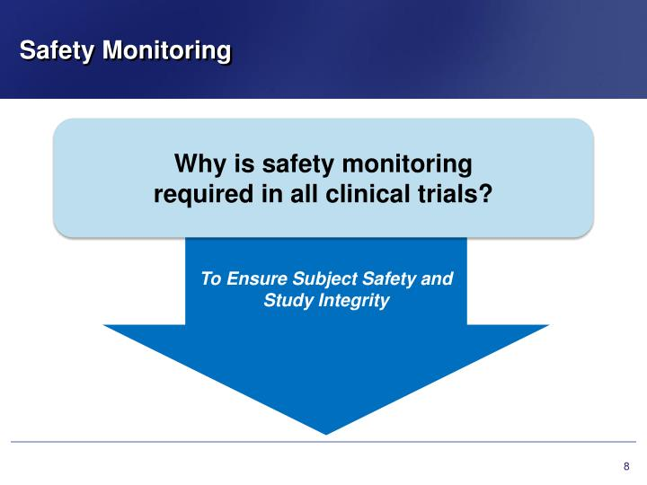 Safety Monitoring