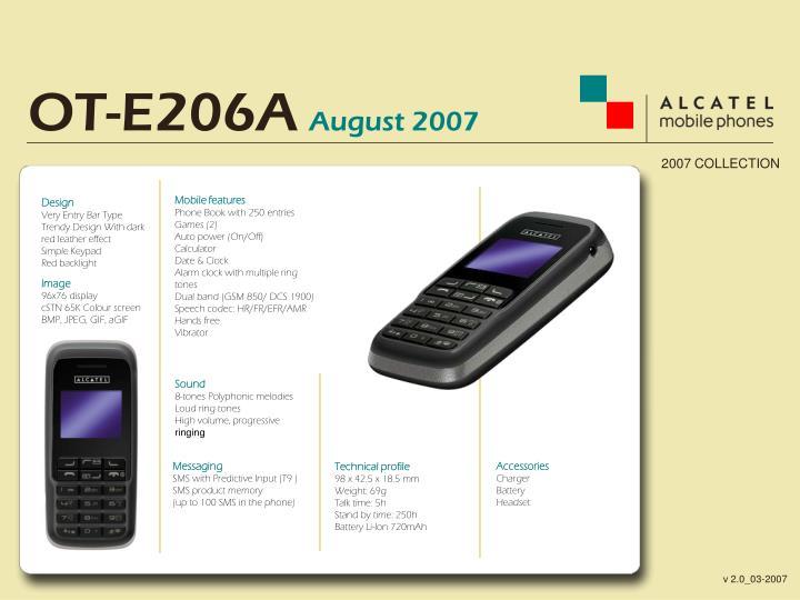 OT-E206A