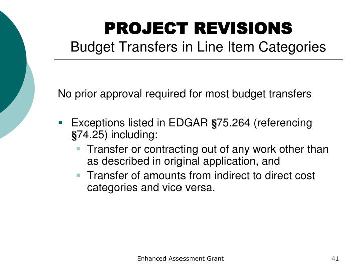 PROJECT REVISIONS