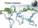 tundra locations